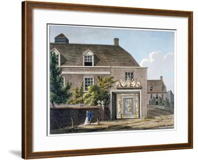 View of the Coade Stone Factory in Narrow Wall, Lambeth, London, 1801-Charles Tomkins-Framed Giclee Print