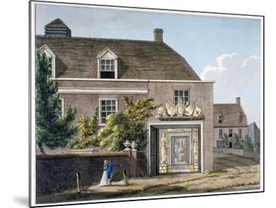 View of the Coade Stone Factory in Narrow Wall, Lambeth, London, 1801-Charles Tomkins-Mounted Giclee Print