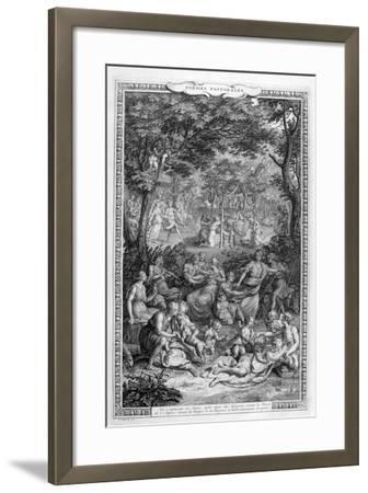 Poetry Pastorales, 1728-1729-Bernard Picart-Framed Giclee Print