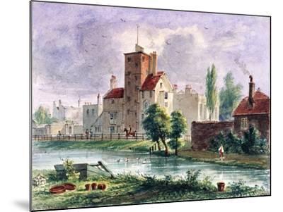 Canonbury House, Islington, London, 1835-CH Matthews-Mounted Giclee Print