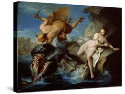 Perseus and Andromeda, 17th Century-Carle van Loo-Stretched Canvas Print