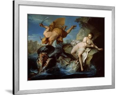 Perseus and Andromeda, 17th Century-Carle van Loo-Framed Giclee Print