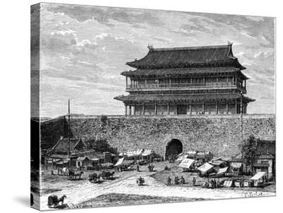 Tiananmen Gate, Peking, China, 19th Century-C Laplante-Stretched Canvas Print