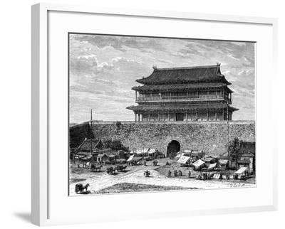 Tiananmen Gate, Peking, China, 19th Century-C Laplante-Framed Giclee Print
