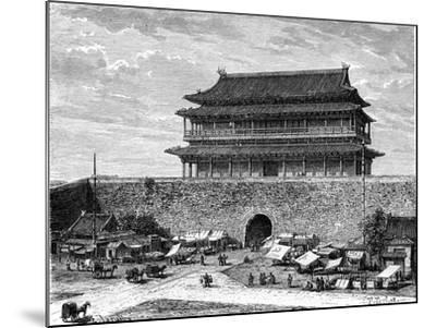 Tiananmen Gate, Peking, China, 19th Century-C Laplante-Mounted Giclee Print