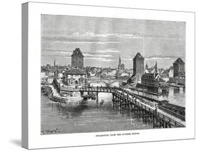 Strasbourg, France, 1879-C Laplante-Stretched Canvas Print