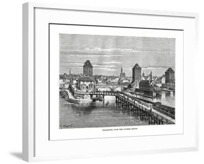 Strasbourg, France, 1879-C Laplante-Framed Giclee Print