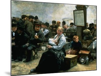 The Promised Land, C1880-1908-Charles Frederic Ulrich-Mounted Giclee Print