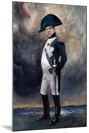 Benoit Constant Coquelin in Plus Que Rene, C1902- Boyer-Mounted Giclee Print