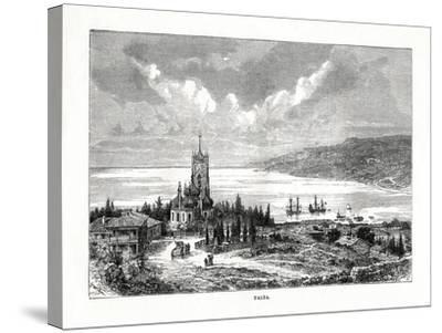 Yalta, Southern Ukraine, 1879-C Laplante-Stretched Canvas Print