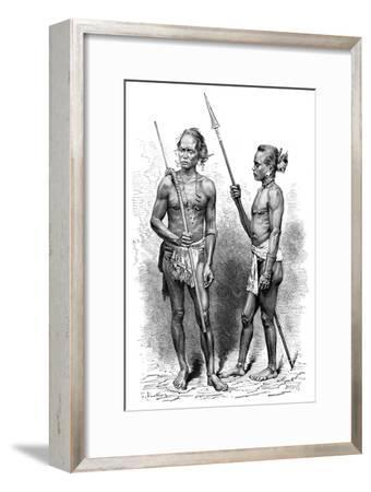 Moi People, Indonesia, 1895-Charles Barbant-Framed Giclee Print