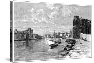 Bizerta, Viewed from the Kasbah, C1890-Bertrand-Stretched Canvas Print