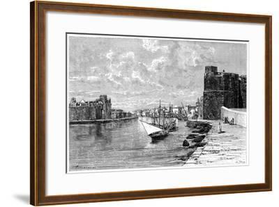 Bizerta, Viewed from the Kasbah, C1890-Bertrand-Framed Giclee Print