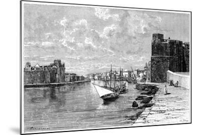 Bizerta, Viewed from the Kasbah, C1890-Bertrand-Mounted Giclee Print