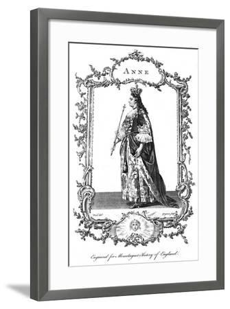 Queen Anne (1665-171)-Charles Grignion-Framed Giclee Print