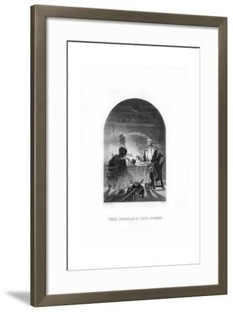 Mrs Steele and General Green, C1770s-C Burt-Framed Giclee Print