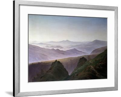 Morning in the Mountains, before 1823-Caspar David Friedrich-Framed Giclee Print