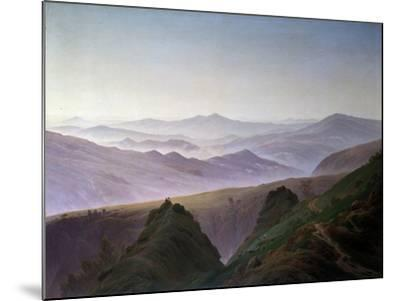 Morning in the Mountains, before 1823-Caspar David Friedrich-Mounted Giclee Print