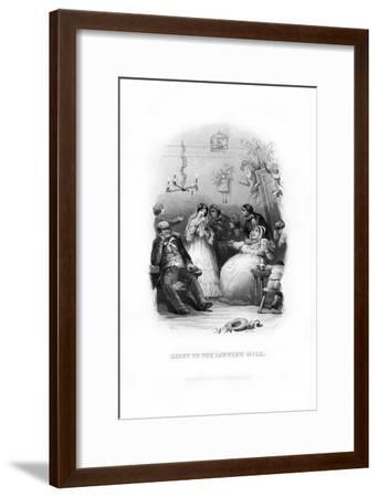 Grist to the Lawyer's Mill, 1872-C Burt-Framed Giclee Print