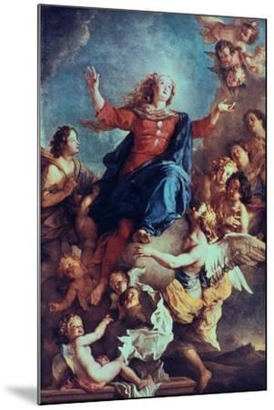 The Assumption of the Virgin, 17th-Early 18th Century-Charles de La Fosse-Mounted Giclee Print