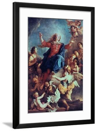 The Assumption of the Virgin, 17th-Early 18th Century-Charles de La Fosse-Framed Giclee Print