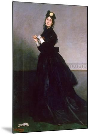 The Woman with the Glove, 1869-Charles Emile Auguste Carolus-Duran-Mounted Giclee Print