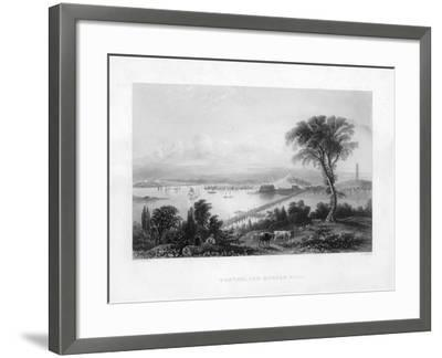 Boston, and Bunker Hill, C1820-C Cousen-Framed Giclee Print