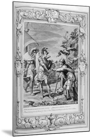 Phineus Is Delivered from the Harpies by Calais and Zethes, 1733-Bernard Picart-Mounted Giclee Print