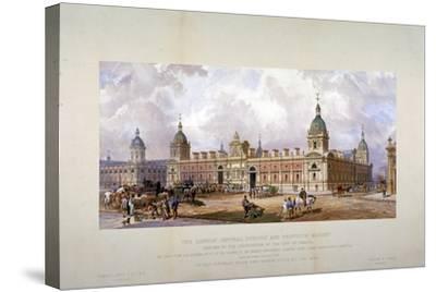 Smithfield Market, City of London, 1875-CF Kell-Stretched Canvas Print