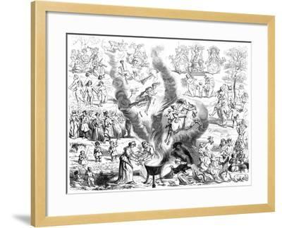 The Sabbath, 16th Century- Cottard-Framed Giclee Print