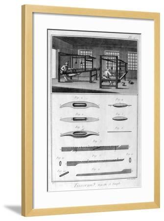 Weavers, 1751-1777-Denis Diderot-Framed Giclee Print