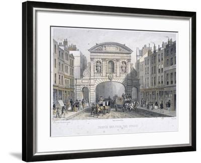 Temple Bar, London, 1854-Deroy-Framed Giclee Print