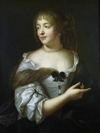 Madame De Sevigne, French Courtier and Letter Writer, 17th Century-Claude Lefebvre-Framed Giclee Print