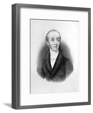 Horace Smith, English Poet and Novelist-E Finden-Framed Giclee Print