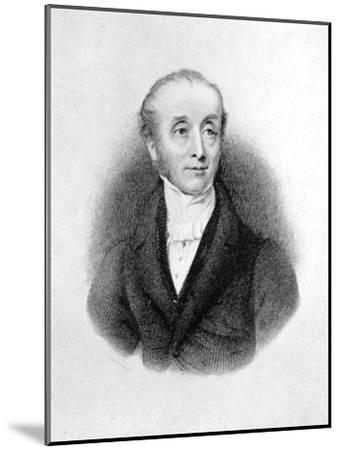 Horace Smith, English Poet and Novelist-E Finden-Mounted Giclee Print