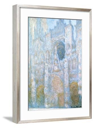 Rouen Cathedral, Sunlight Effect, 1894-Claude Monet-Framed Giclee Print