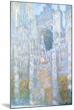Rouen Cathedral, Sunlight Effect, 1894-Claude Monet-Mounted Giclee Print