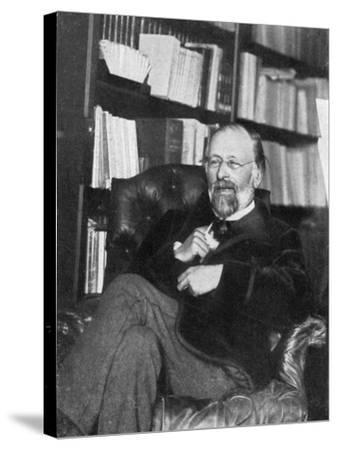 Hippolyte Taine, French Critic and Historian, 1890- Chevrillon-Stretched Canvas Print