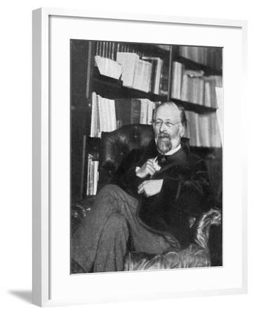 Hippolyte Taine, French Critic and Historian, 1890- Chevrillon-Framed Giclee Print