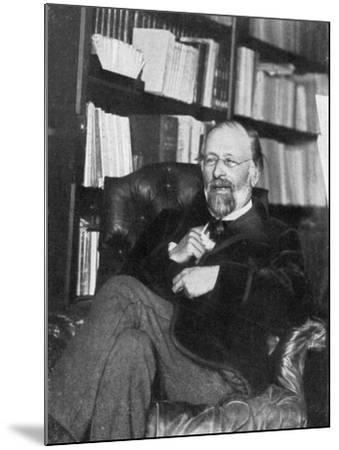 Hippolyte Taine, French Critic and Historian, 1890- Chevrillon-Mounted Giclee Print