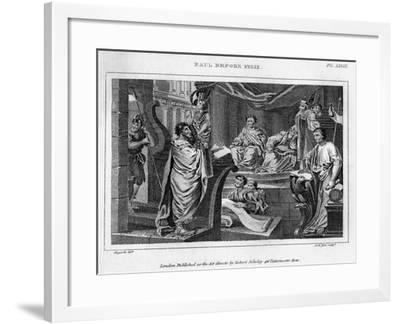 Paul before Felix, 18th Century-DB Pyet-Framed Giclee Print