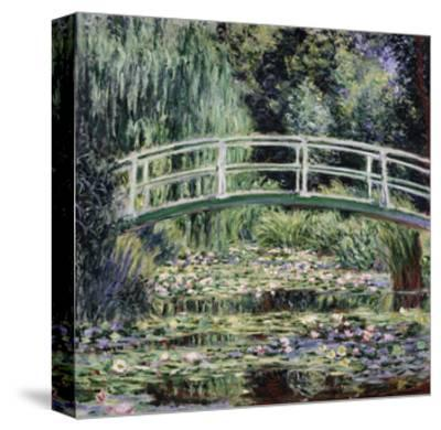 White Water Lilies, 1899-Claude Monet-Stretched Canvas Print