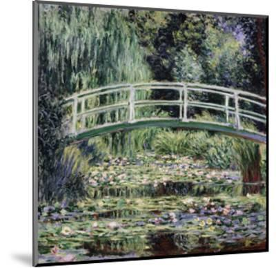 White Water Lilies, 1899-Claude Monet-Mounted Premium Giclee Print