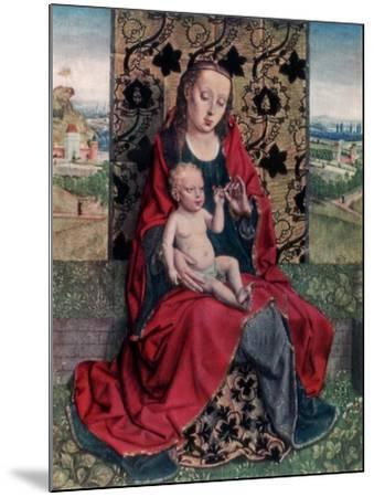 The Madonna and Child-Dirck Bouts-Mounted Giclee Print