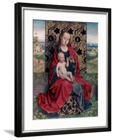 The Madonna and Child-Dirck Bouts-Framed Giclee Print
