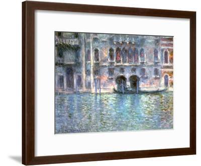 Venice, Palazzo Da Mula, 1908-Claude Monet-Framed Giclee Print