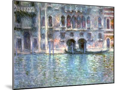 Venice, Palazzo Da Mula, 1908-Claude Monet-Mounted Giclee Print