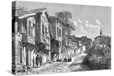 Scutari, Turkey, 1895-D Lancelot-Stretched Canvas Print