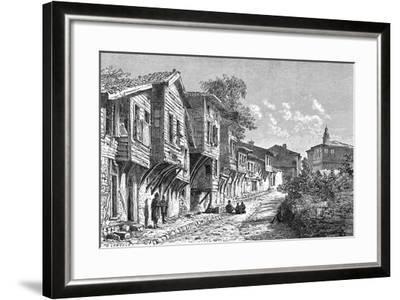 Scutari, Turkey, 1895-D Lancelot-Framed Giclee Print