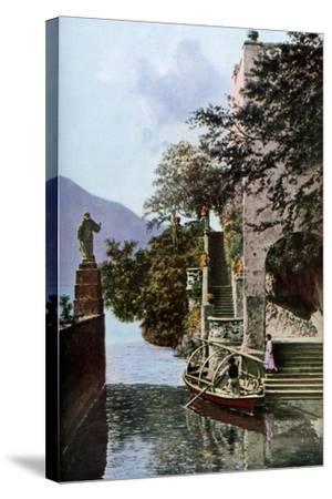 Villa Del Balbianello, Lenno, Lake Como, Italy, C1930S-Donald Mcleish-Stretched Canvas Print